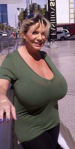 Big boobs clothed