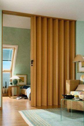 Dorrgardiner Modern Bedroom Interior Folding Doors Interior