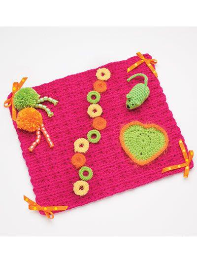 Fiddle Mats Muffs Cuffs Crochet Patterns Fidget Quilt Crochet Projects