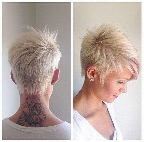 Kurzhaarfrisuren Damen Hinterkopf Flippige Kurzhaarfrisuren Flippige Frisuren Freche Haarschnitte