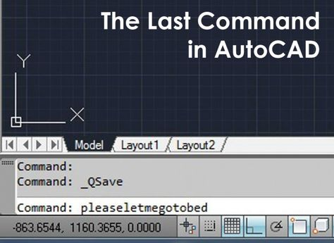 The Last Command in Autocad