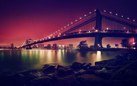 Télécharger Fonds Décran 4k Pont De Brooklyn Les Paysages