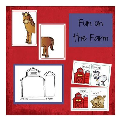 Farm activities for the Big Red Barn
