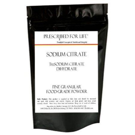 Amazon.com: Sodium Citrate - 100% Pure TriSodium Citrate Dihydrate - 1 lb Bulk Pack: Health & Personal Care
