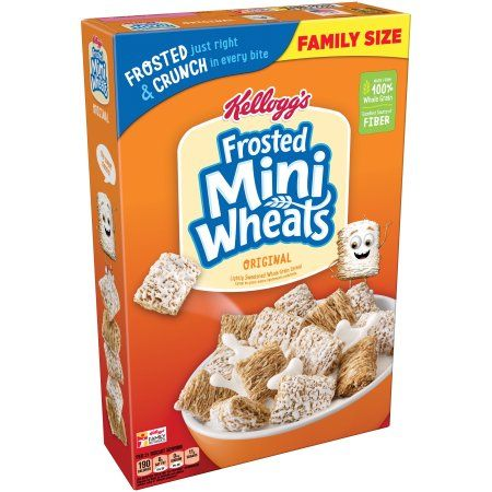 Kellogg's Frosted Mini-Wheats Breakfast Cereal 24 Oz in 2019 | Y υ м