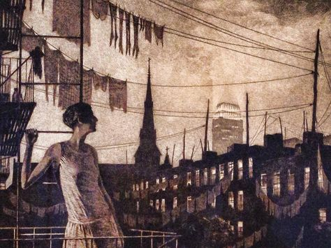 Museo Moma.En El Museo Moma New York Martin Lewis The Glow Of The City
