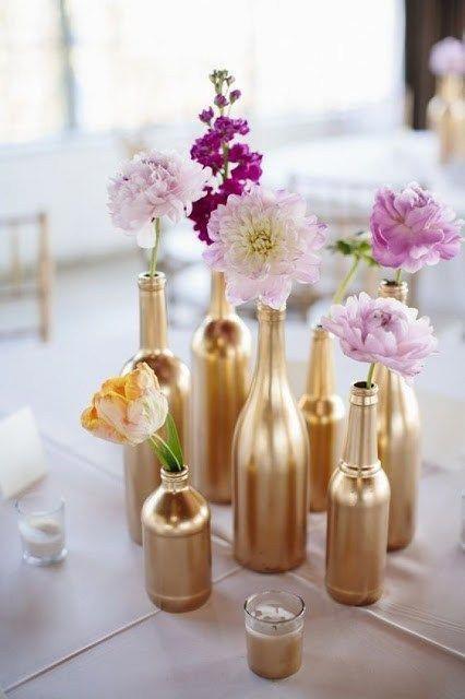 10 Diy Wedding Flower Centerpieces On A Budget City Of Creative Dreams Diy Wedding Wedding Centerpieces Diy Flower Centerpieces Wedding Wedding Centerpieces