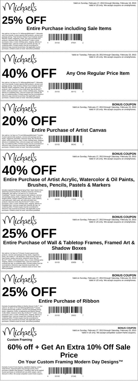 Modern Michaels Frame Coupons Ornament - Frames Ideas - ellisras.info