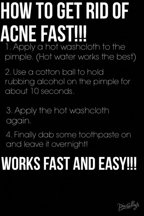 Bad pimple? Get rid of it fast with this simple home remedy!!!