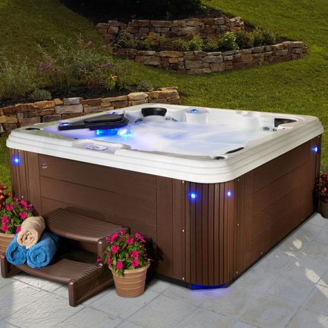 vienna hot tub by strong spas 6 7