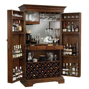 Howard Miller Douro Wine And Bar Cabinet Wayfair With Images Home Bar Cabinet Wine Bar Cabinet Bars For Home