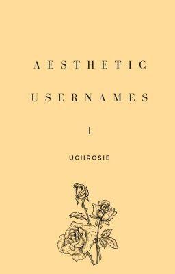 Aesthetic Usernames 1 Complete Aesthetics Instagram Nama