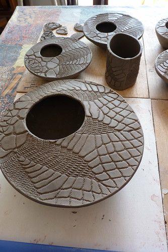 P1300890 Slab Pottery Clay Ceramics Pottery