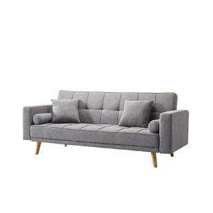 Simonne Modern Sofa Bed Allmodern Sofa Scandinavian Sofas Sofa Bed