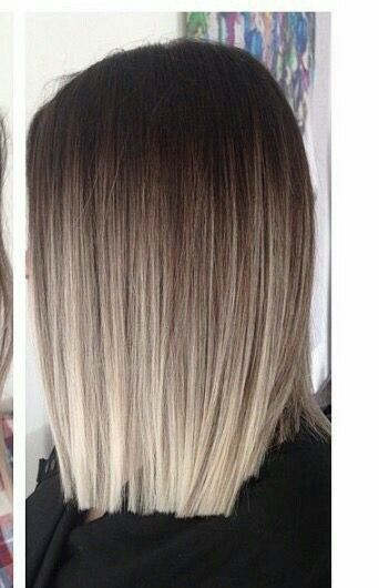 Brown Ash Blonde Balayage Inspo 3 Short Ombre Hair Balayage Straight Hair Ombre Hair Blonde