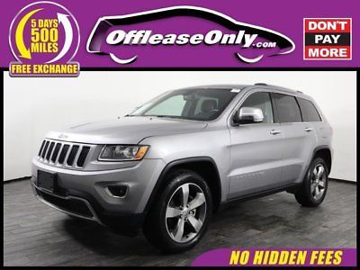 Ebay Grand Cherokee Limited Off Lease Only 2015 Jeep Grand
