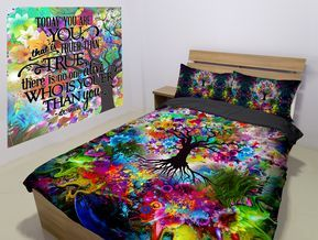 Tree Of Life Bedding Set Cool Beds Bed Bedding Curtain Sets