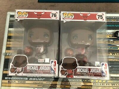 Ebay Ad Url New 2 Funko Pop Michael Jordan 10 Inch With Protectors Foot Locker Exclusive In 2020 Jordan 10 Foot Locker Michael Jordan