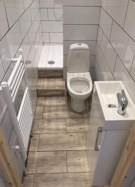 Trendy Bath Room Layout No Toilet Sinks 36 Ideas Small Bathroom Bathroom Design Small Ensuite Shower Room