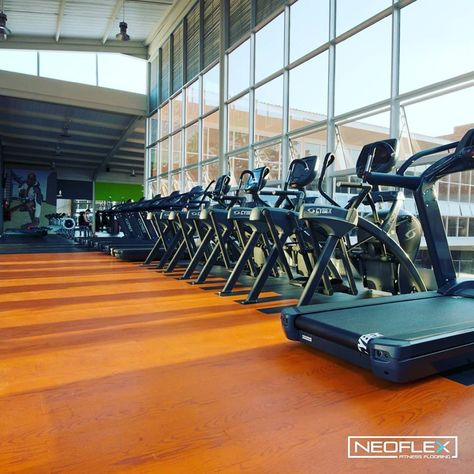 Neoflex Premium Wood Series Fitness Flooring In Color Wd 30303 At Pro Fitness In Harare Zimbabwe Gym Flooring Rubber Floor Workouts Gym Flooring