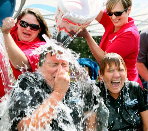 Dan Deely taking the plunge!  #icebucketchallenge  Clevelanders douse themselves with ice water for Lou Gehrig's disease | cleveland.com