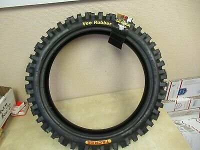Vee rubber white wall motorcycle tires