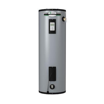 A O Smith Signature Premier 50 Gallon Tall 12 Year Limited 5500 Watt Double Element Electric Water Heater At Lowes Com In 2020 Electric Water Heater Water Heater Heater