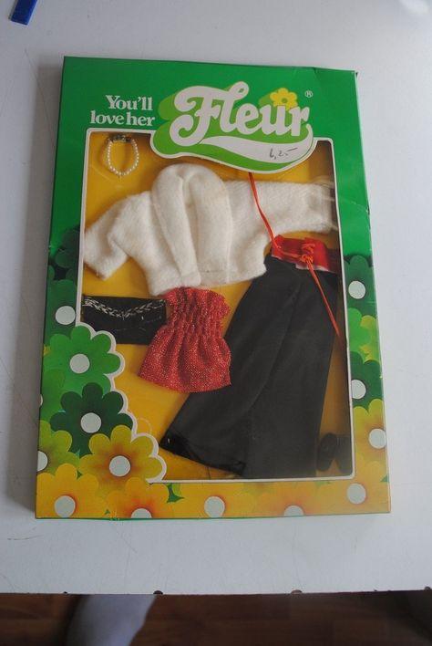 Vintage Fleur Dutch Sindy Outfit Mib Dolls