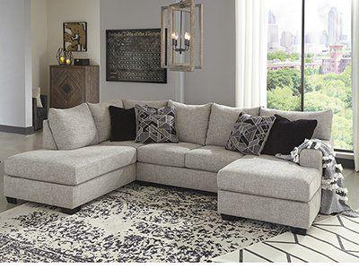 Matrix 2 Pc Sectional Furniture Chaise Sofa Ashley Furniture