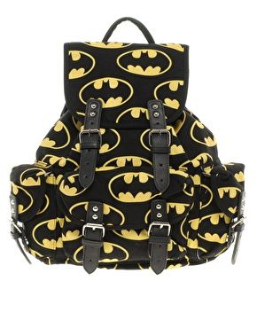Lazy Oaf | Lazy Oaf Batman Backpack at ASOS