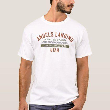 Angels Landing Zion T Shirt T Shirt Shirts Personalized T Shirts