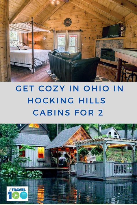 Here's how to find the perfect Hocking Hills cabins for Hocking Hills in Ohio is filled with hiking trails, gorgeous waterfalls and a variety of accommodations, perfect for a getaway. The Places Youll Go, Cool Places To Visit, Places To Travel, Travel Destinations, Places To Go, Hocking Hills Cabins, International Travel Tips, Getaway Cabins, Travel Reviews