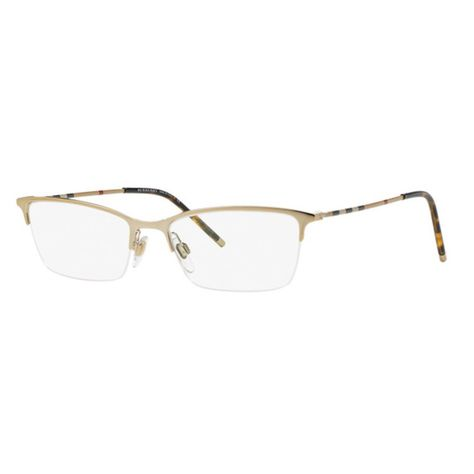 18bdde86369c Burberry BE1278 1145 Light Cat Eye Eyeglasses w  53mm Lens ...
