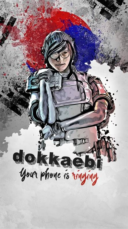 Dokkaebi Rainbow Art Rainbow Six Siege Art Rainbow Wallpaper