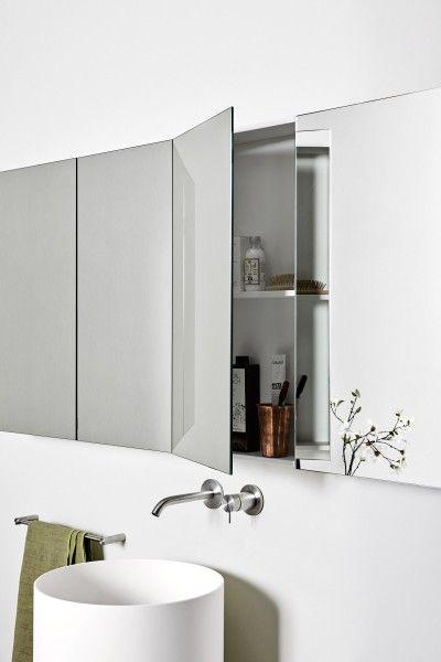 Rexa I Rettangolo Contenitiva Mirror Cabinets Mini Bathtub