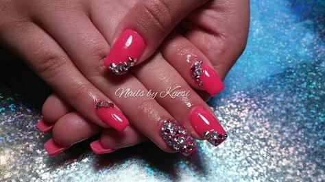 Glamourous by nailsbykaesi - Nail Art Gallery nailartgallery.nailsmag.com by Nails Magazine www.nailsmag.com #nailart  #Acrylic #nails #boise #nampa #CALDWELL #meridian #Kuna #IDAHO #EZFlow #nailtech #Acrylicnails #nailartist #Swarovski