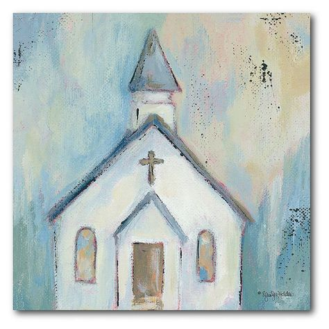 """""""Take your space to the next level with this COURTSIDE MARKET Little White Chapel Canvas Wall Art. Take your space to the next level with this COURTSIDE MARKET Little White Chapel Canvas Wall Art. Warp, twist and snap resistant stretcher bar frame Small: 16""""""""H x 16""""""""W x 1.5""""""""D Medium: 24""""""""H x 24""""""""W x 1.5""""""""D Large: 30""""""""H x 30""""""""W x 1.5""""""""D Weight: 2 lbs. Canvas, MDF, metal Attached sawtooth hook Horizontal or vertical display Wipe clean Size: 16X16. Color: Multicolor. Gender: unisex. Age Group: adu Farmhouse Paintings, Country Paintings, Diy Canvas Art, Canvas Wall Art, Little White Chapel, Country Wall Art, Religious Paintings, Christmas Signs Wood, Learn Art"""