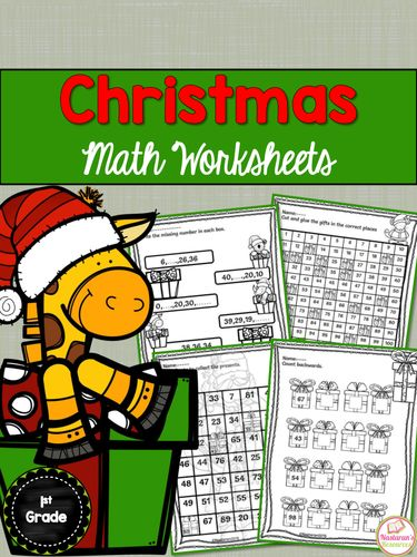 Christmas Math Worksheets Christmas Math Worksheets Christmas Math Math Worksheets