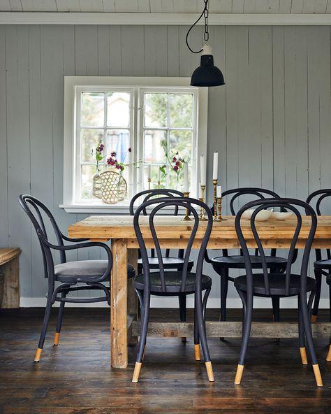 Une chaise de bistrot customisée | Shake My Blog