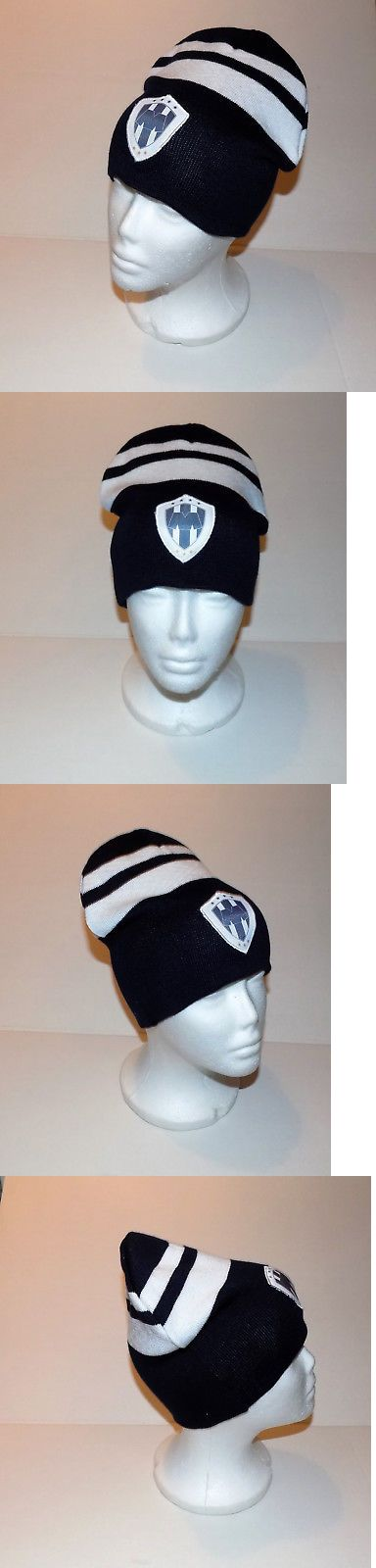 sale retailer d080f 0e099 Hats and Headwear 123876  Rayados De Monterrey Beanie Hat (Gorra Beanie) Mexico  Soccer