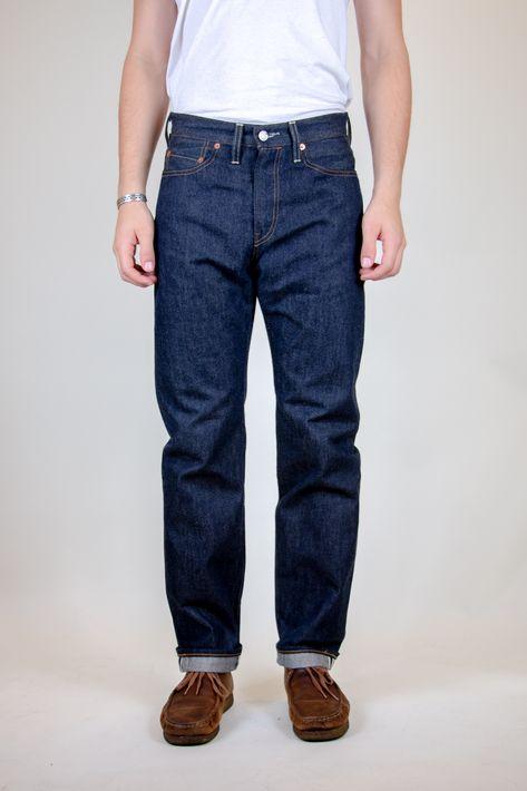 Levi's Vintage 1954 501 Jeans - Blue Rigid - 33 32