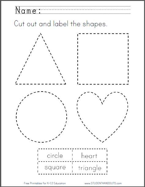 Pin On Kindergarten Cutting activities for preschoolers pdf