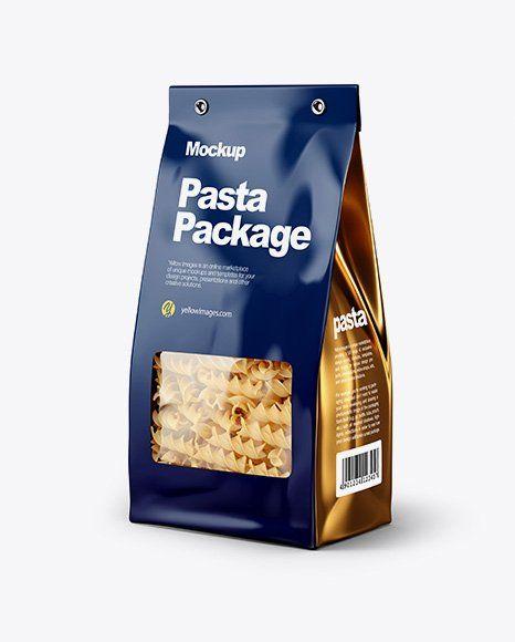 Download Rice Pouch Mockup Kemasan Chips Pasta