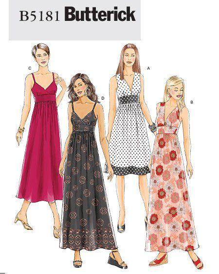 Symønstre 60 Kjole Burda 6972 To Tøj Plus Sewing Size qxzaBAw