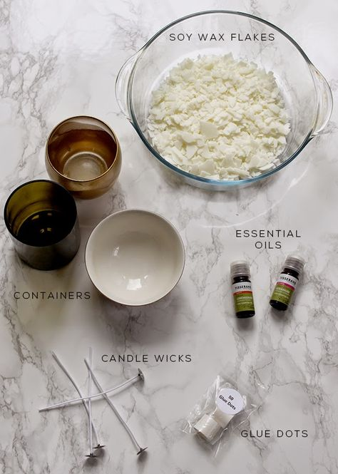 Swoon Worthy: How to Make Soy Wax Candles with Essential Oils