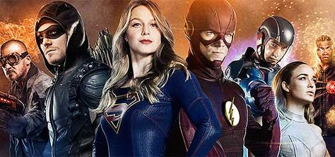 Crossover The Flash Arrow Supergirl Et Dc S Legends Of