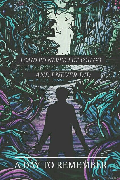 Have Faith In Me With Images A Day To Remember Band