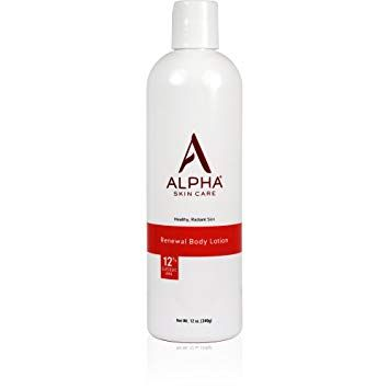 Amazon Com Alpha Skin Care Renewal Body Lotion 12 Glycolic Aha Supports Healthy Radiant Skin Fragra Body Lotion Healthy Radiant Skin Anti Aging Formula