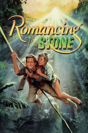 Romancing the Stone Poster. ID:1393633 | Romancing the stone, Movies, 80s  movies