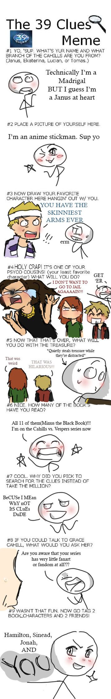 Meme By Myoni52 Memes The 39 Clues Family Problems